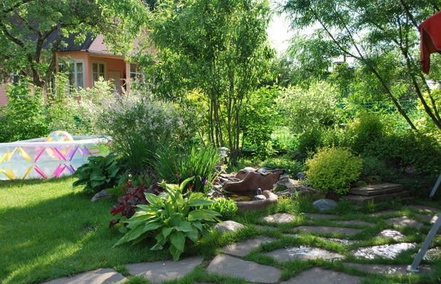 как самостоятельно оформить декоративный сад