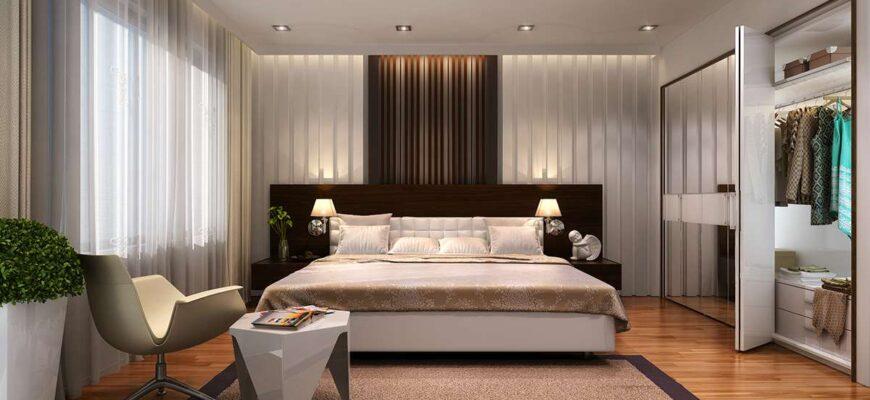 как оформить дизайн спальни своими руками