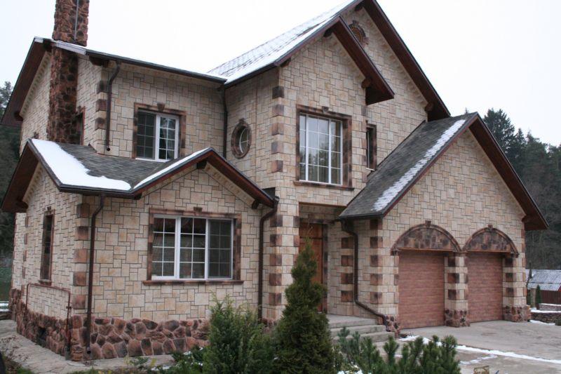 внешняя отделка фасадов домов