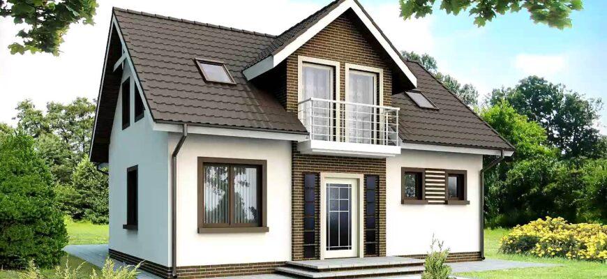 проект домов с мансардой