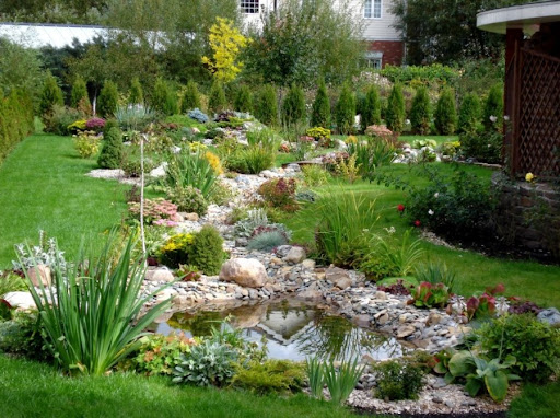 декоративный сад своими руками