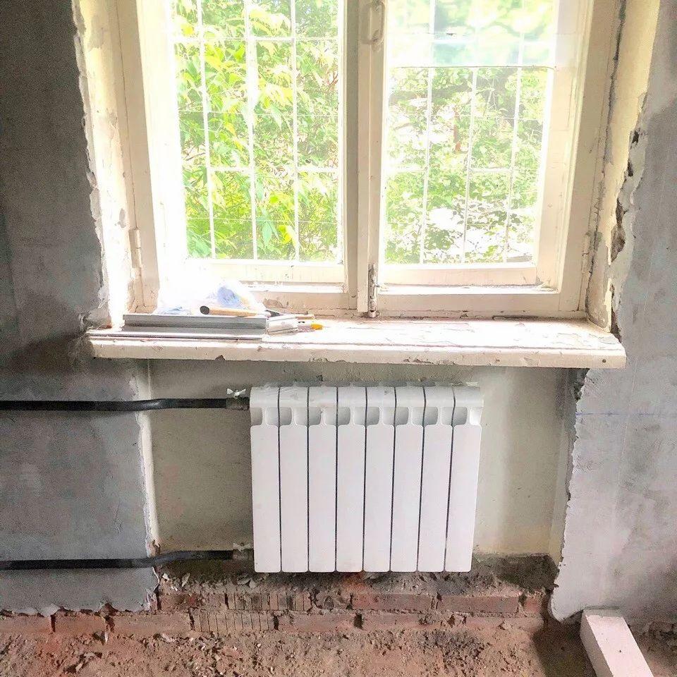 Замена чугунных радиаторов