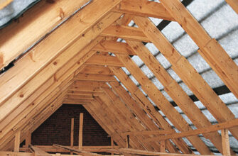 Переделка крыши дома под мансарду